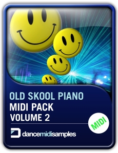 DMS Old Skool Piano MIDI Vol 2