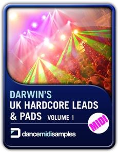 Darwins Hardcore Leads & Pads MIDI