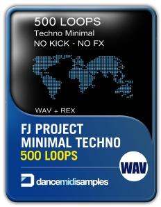 500 Minimal Techno Loops