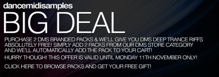 DMS Big Deal #001 - Valid to 11th Nov 2013 - no code needed!
