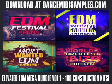 ELEVATED EDM CONSTRUCTION KITS BUNDLE - WAV/ MIDI LOOPS - DOWNLOAD NOW!