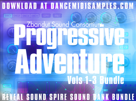 Download 'Progressive Adventure Vols 1-3' Reveal Spire Preset Bundle Pack