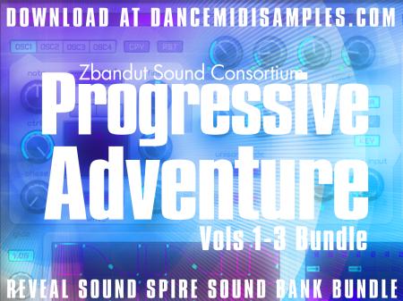 Download 'Progressive Adventure Vols 1-3' Reveal Spire Preset Bundle Pack