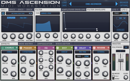 DMS Ascension - VST/ AU 64-Bit Synth Workstation