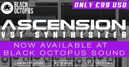 Asension VST Synth - just $99 USD!